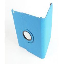 Etui rotatif bleu ciel tablette Apple Ipad Air