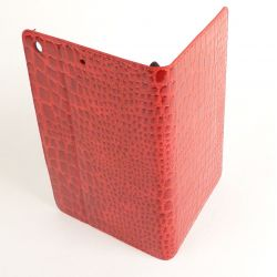 Etui protection croco rouge Apple iPad mini