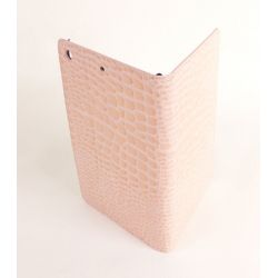 Etui protection croco rose Apple iPad mini