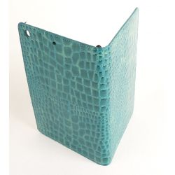 Etui protection croco bleu Apple Ipad mini
