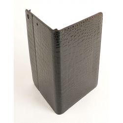 Apple Ipad mini black crocodile case