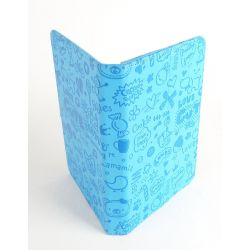 Etui protection Fun bleu Samsung Tablette 7 pouces