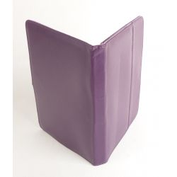 Protective leather case purple purple tablet Samsung 10 inches