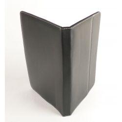 Etui protection simili cuir noir tablette Samsung 10 pouces