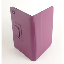 Etui protection simili cuir violet tablette Galaxy Tab 7.7 p6800