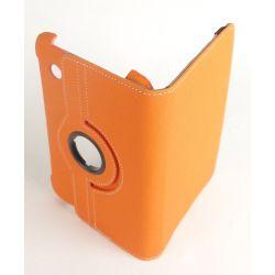 Etui rotatif orange Samsung Galaxy Tab 2 7.0