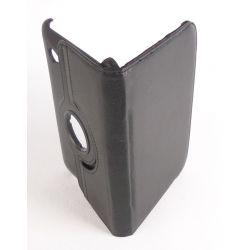 Etui rotatif simili cuir noir  Samsung Galaxy Tab 7.0