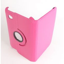 Pink Leather Case for Samsung Galaxy Tab 7.0