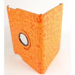 Protective case Fun orange orange Ipad with screen retina Apple