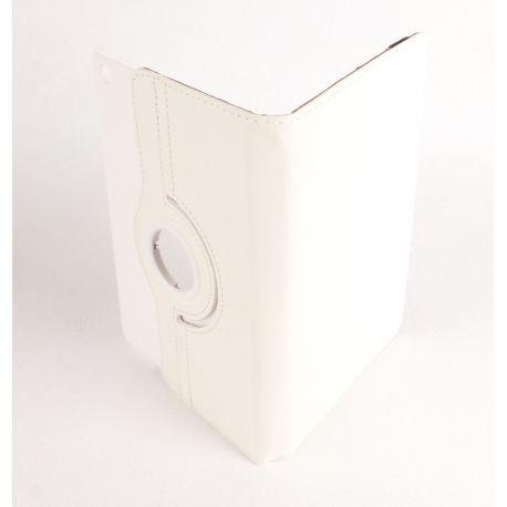 Etui rotatif blanc tablette Apple Ipad mini