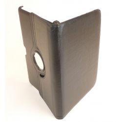 Etui rotatif simili cuir noir tablette Galaxy tab 10.1 P7500/P7510