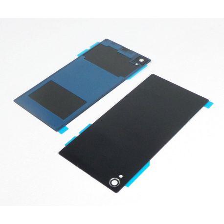 Vitre arrière noire sans logo pour Sony Xperia Z1 L39h C6903