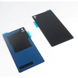 Rear window black without logo for Sony Xperia Z3 L55t D6603, D6633, D6643, D6653, D6616