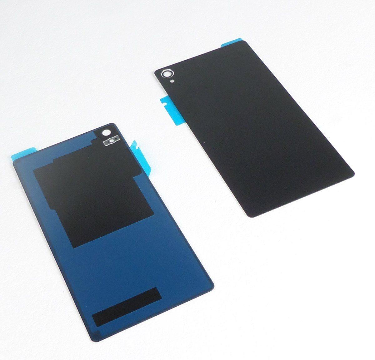 Vitre arrière noire compatible Sony Xperia Z3 L55t D6603,D6633,D6643,D6653,D6616