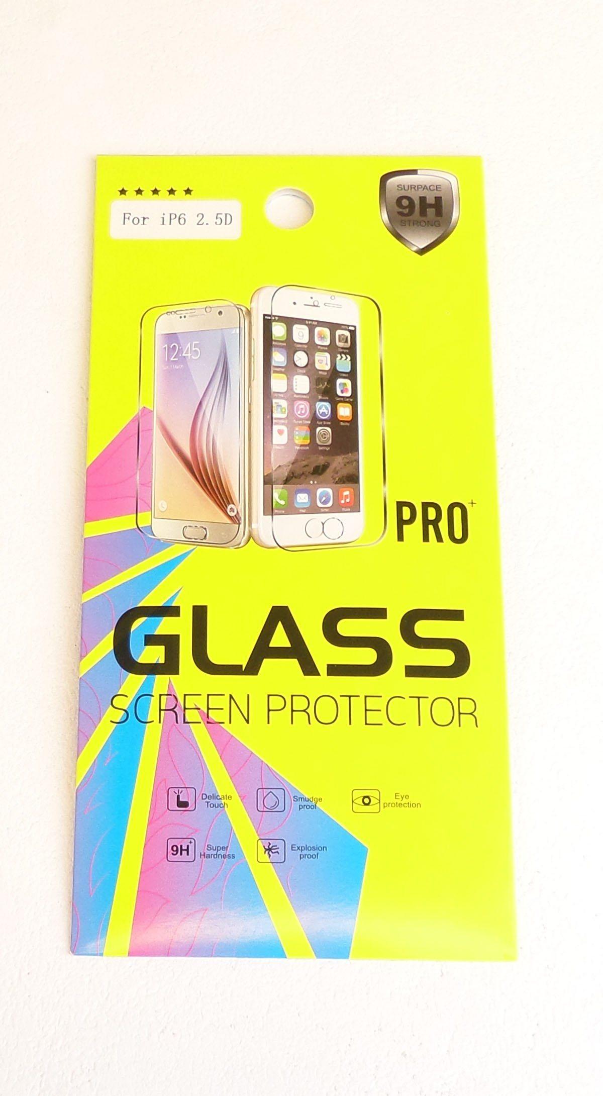 Vitre de protection en verre trempé HQ 0,25mm 9H pour Apple iPhone 6