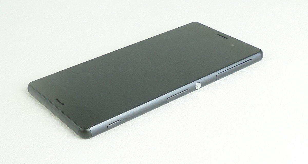 Ecran vitre tactile et LCD assemblés sur châssis noir compatible Sony Xperia Z3 L55t SINGLE