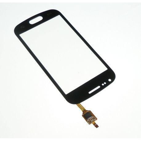 Ecran vitre tactile noire Samsung Galaxy trend S7560