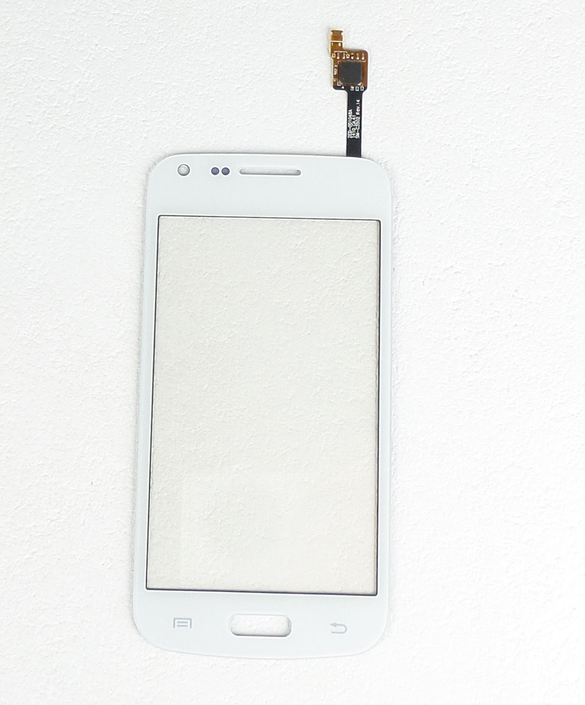 Ecran vitre tactile blanc compatible Samsung Galaxy Core Plus G3500 G350