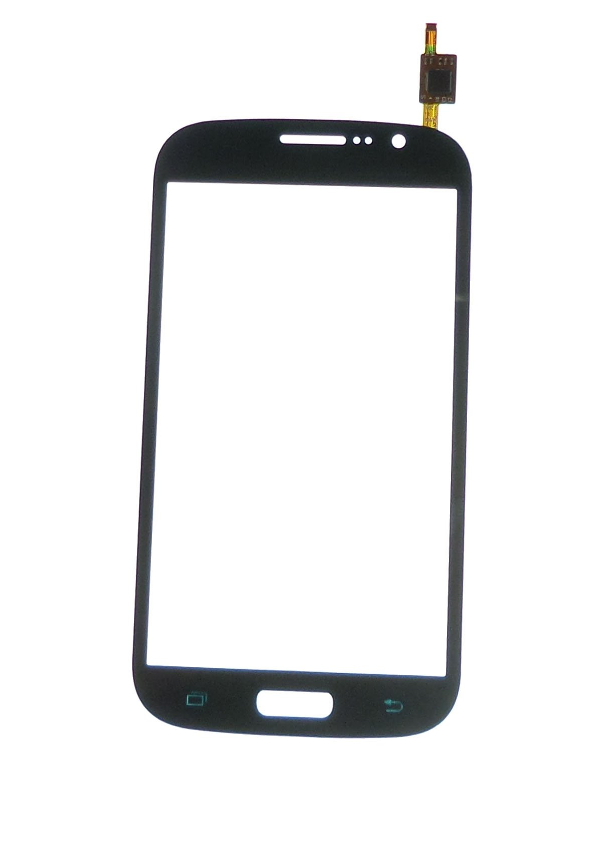 Ecran vitre tactile bleu compatible Samsung Galaxy Grand Plus I9060i