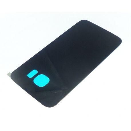 Cache arrière compatible cache batterie bleu pour Samsung Galaxy S6 G920F