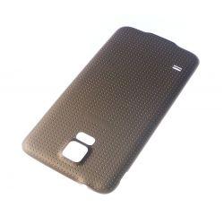 Cache arrière compatible cache batterie Or pour Samsung Galaxy S5 G900F G900H