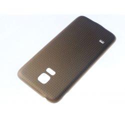 Cache arrière compatible cache batterie Or pour Samsung Galaxy S5 mini G800F