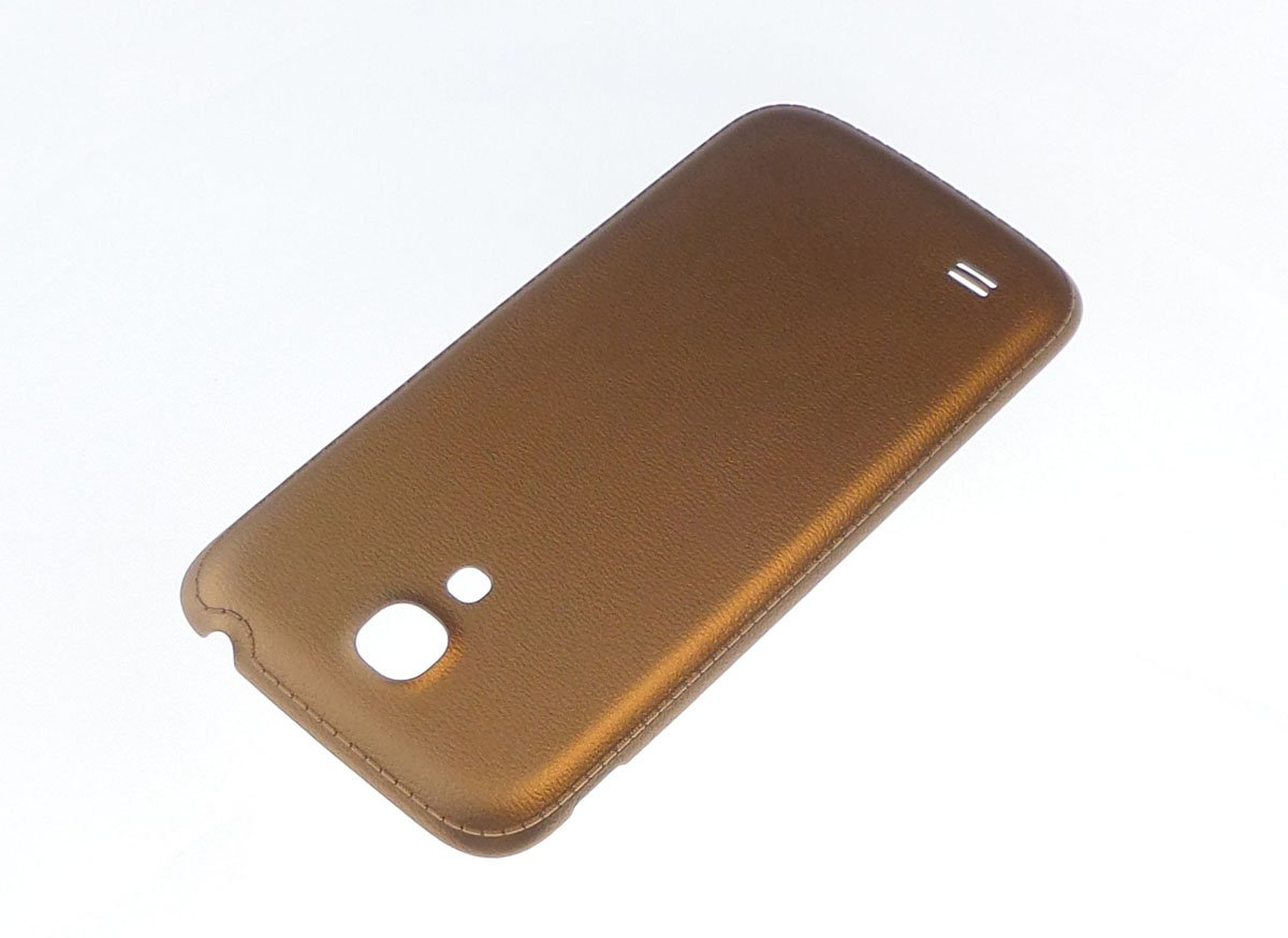 quality design ef2b5 6d912 Compatible back cover Samsung Galaxy S4 mini I9190 I9195 gold battery cover