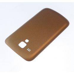 Cache arrière compatible cache batterie Or pour Samsung Galaxy trend S7560 S7562