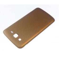 Cache arrière compatible cache batterie Or pour Samsung Galaxy grand 2 II G7106 G7105