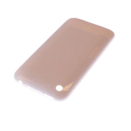 Facade arriere blanche sans logo Iphone 3G