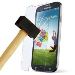 Protective glass in very high quality tempered glass for Samsung Galaxy S4 mini I9190 I9195