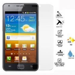 Protective glass in very high quality tempered glass for Samsung Galaxy S2 I9100