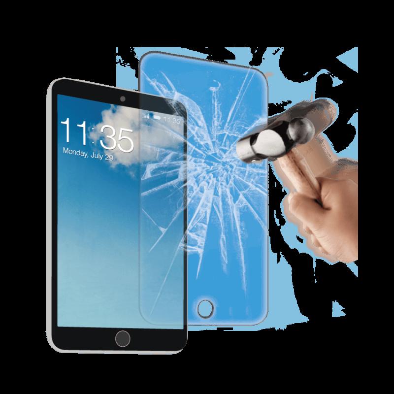 Vitre de protection en verre tremp de tr s haut qualit apple ipad 6 ou ipad air 2 - Vitre en verre trempe ...