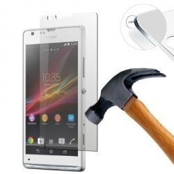 High quality tempered glass protector for Sony Xperia SP M35h C5303