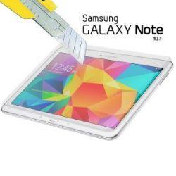 Vitre de protection en verre trempé de très haut qualité pour Samsung Galaxy note 10.1 N8000 N8010
