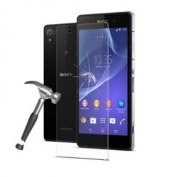 Protective glass in very high quality tempered glass for Sony Xperia Z2 D6502 D6503 L50w