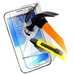 Protective glass in very high quality tempered glass for Samsung Galaxy Ace 3 S7275 S7275R