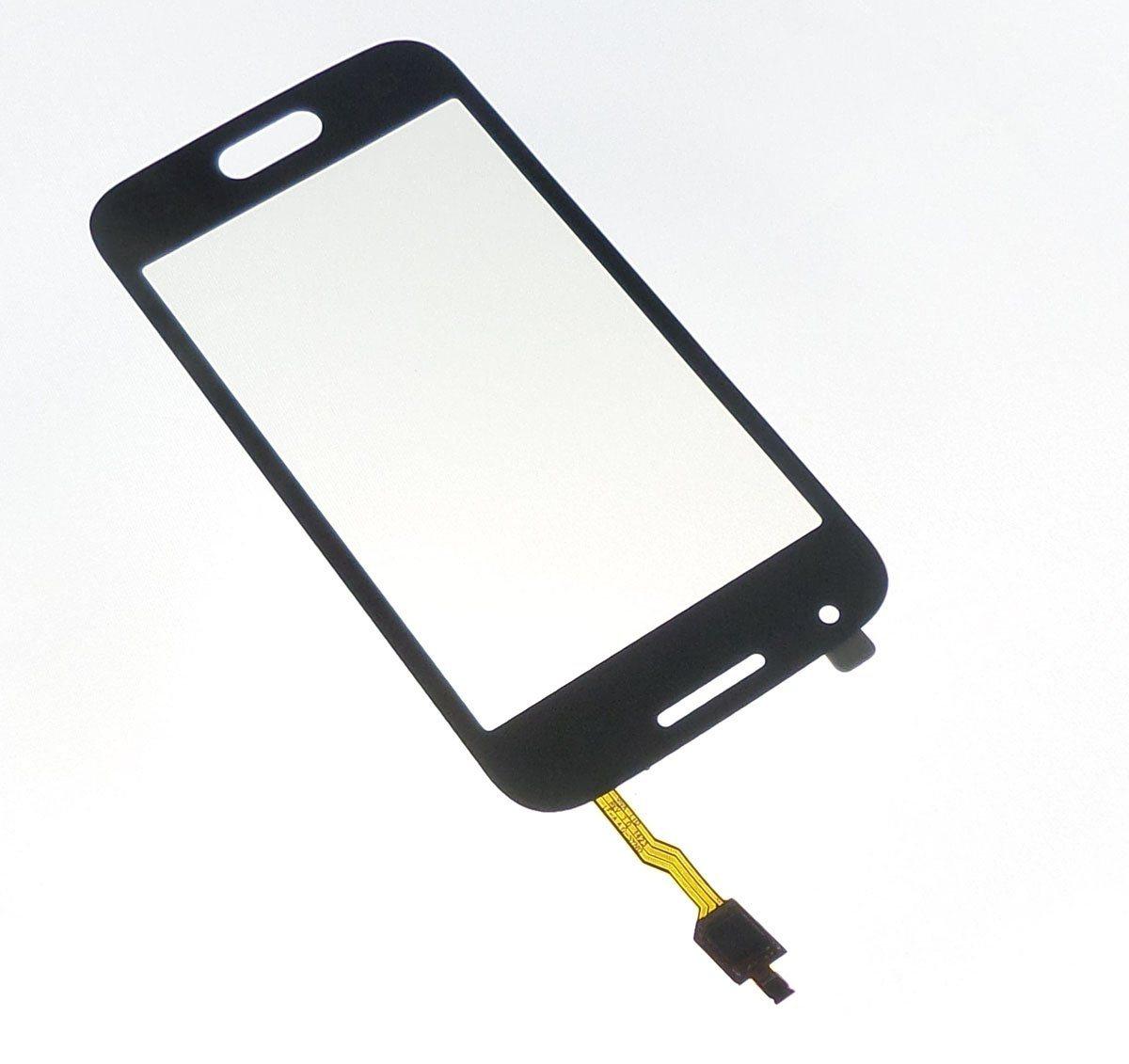 Ecran vitre tactile noire compatible pour Samsung Galaxy Trend 2 Lite G318h