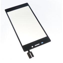 Ecran vitre tactile noir compatible Sony Xperia M2 S50h D2302-3-4-5