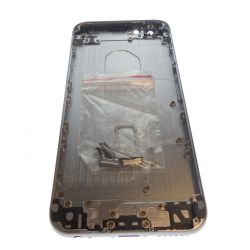 Black Rear Logo Chassis Black for Apple Iphone 6S