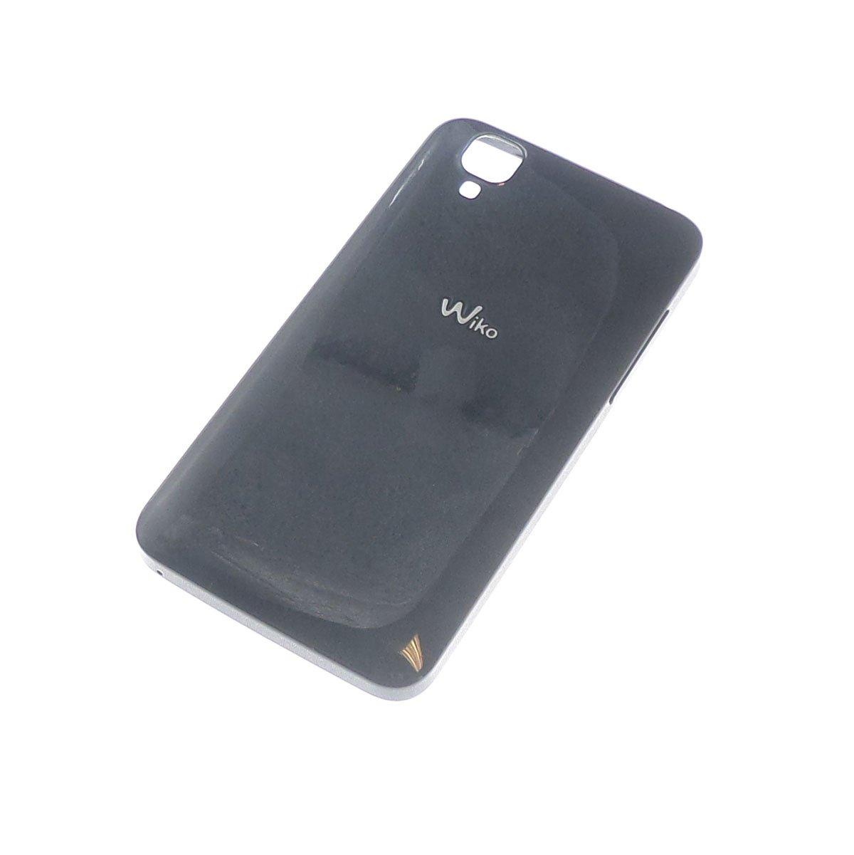 Cache arrière Noir pour Wiko Goa