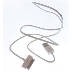 La conexión del cable de datos al PC para Apple iPhone 4G y 4S