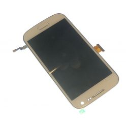 Lcd display with touch screen and chassis Samsung Galaxy S3 mini I8190 white