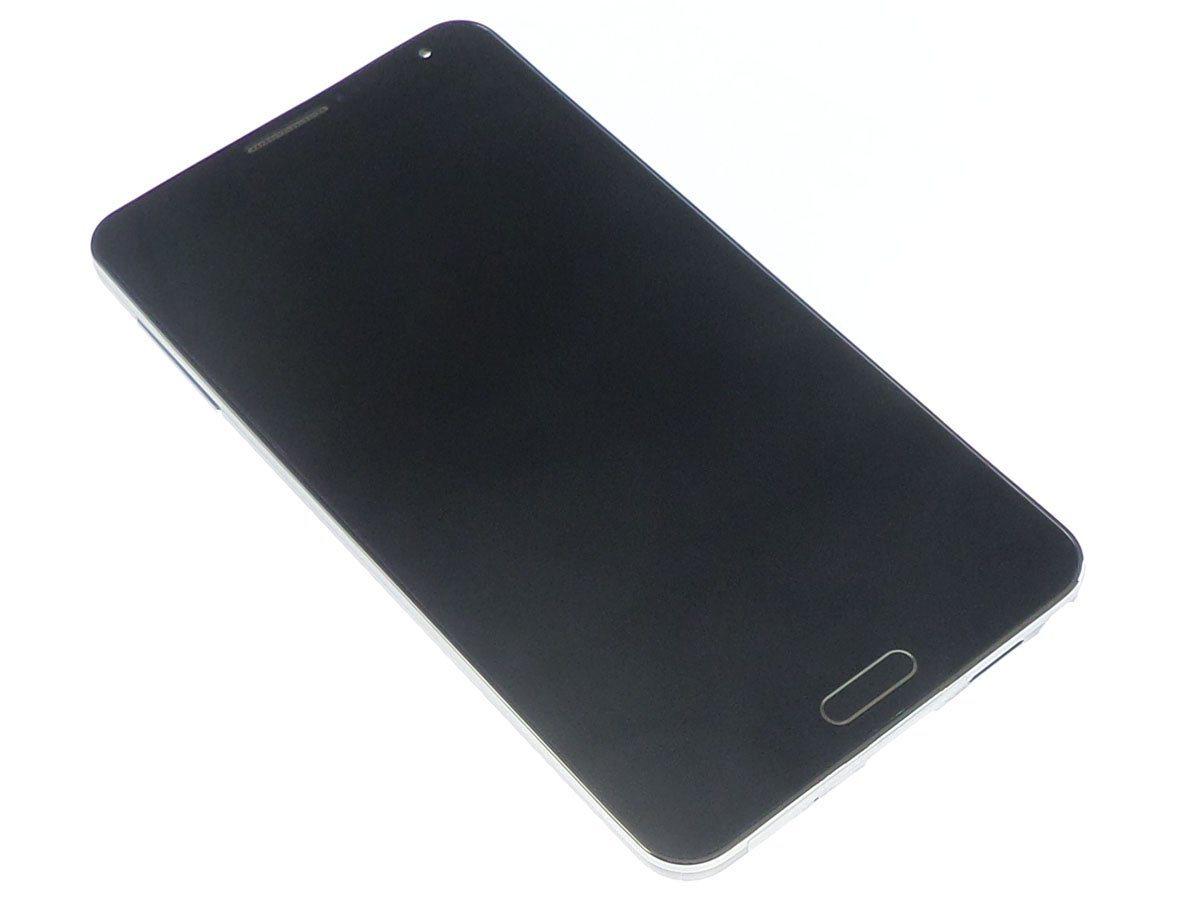Ecran Lcd et vitre tactile assemblés sur châssis noir Samsung Galaxy Note 3 N9005