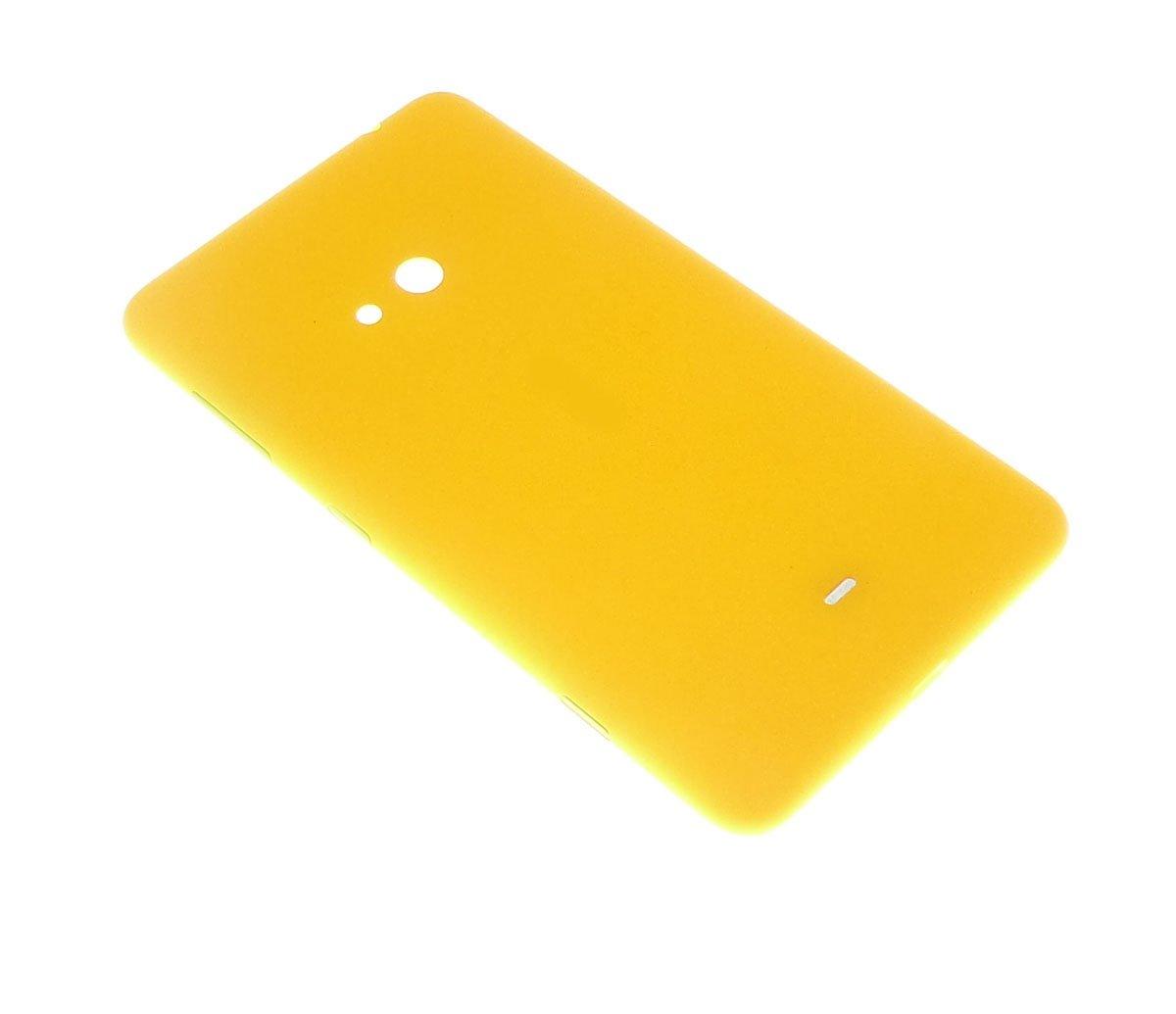 Cache batterie arrière jaune pour Nokia Lumia 625