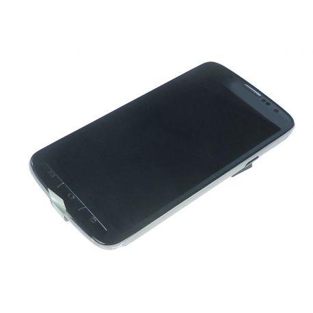 Ecran vitre tactile et LCD assemblés gris pour Samsung Galaxy S4 Active I9295