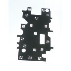 Plaque metal pour Motorola Moto G 4G XT1039