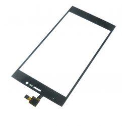 Ecran vitre tactile noir pour Wiko Ridge 4G