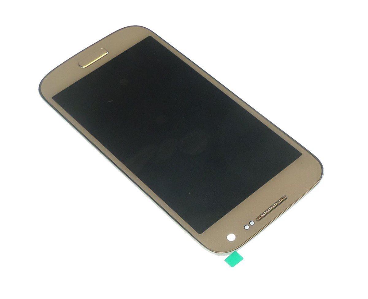 Ecran Lcd et vitre tactile assemblés sur châssis Samsung Galaxy S4 mini 4G I9195 blanc