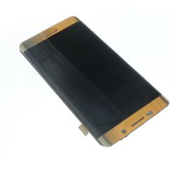 Ecran vitre tactile et LCD assemblés Or pour Samsung Galaxy S6 Edge plus G928F G928